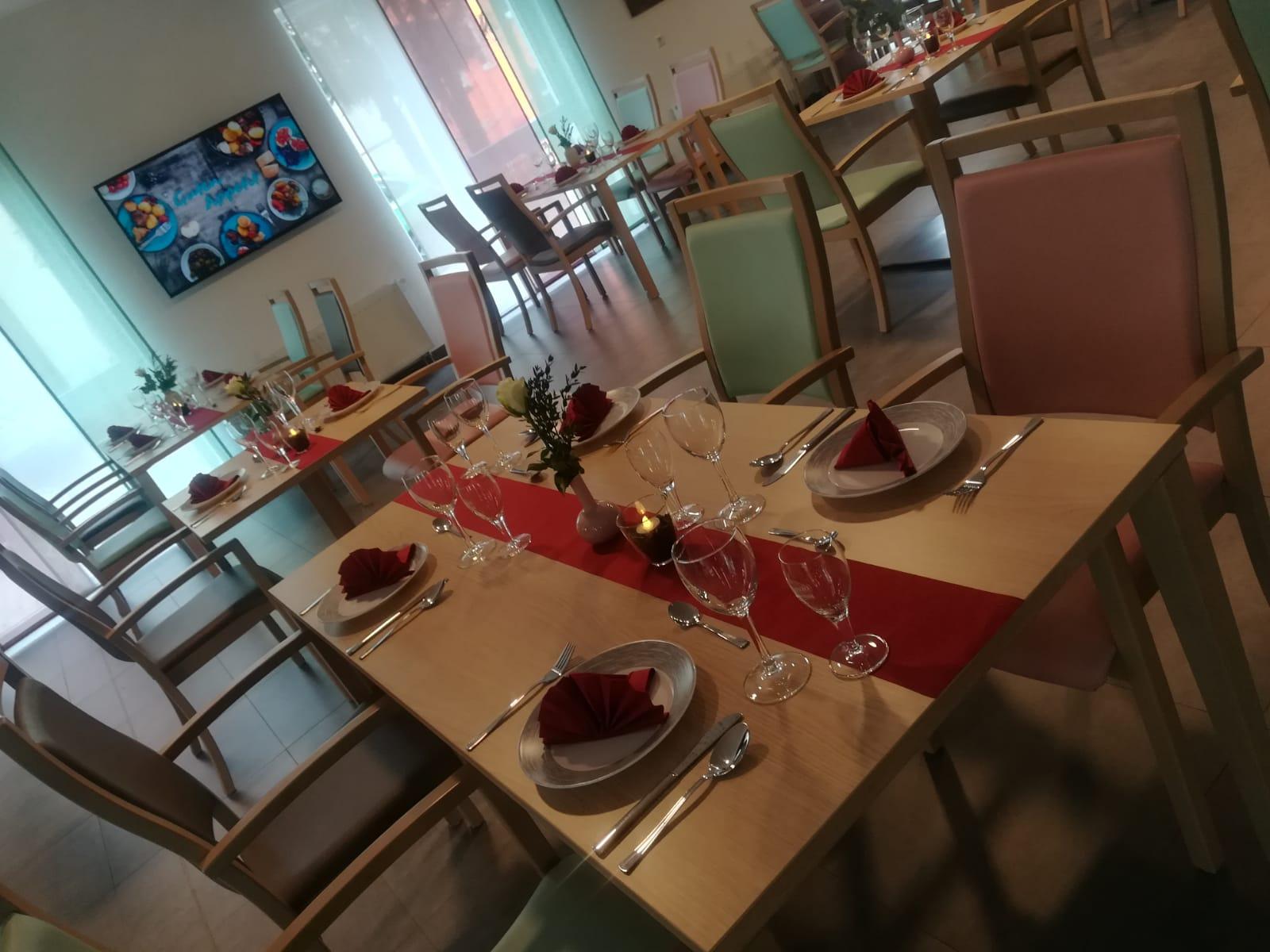 Cafeteria ASPIDA Pflegecampus Plauen