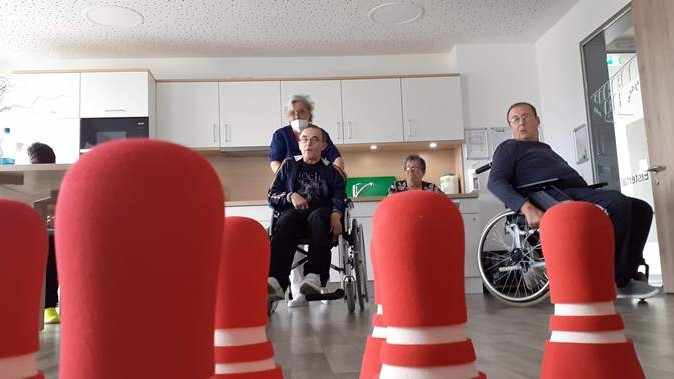 Bowling_im ASPIDA Pflegecampus Plauen