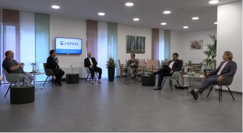 Talk zum Tag der Pflege 2021 mit den Plauener OB-Kandidaten im ASPIDA Pflegecampus Plauen