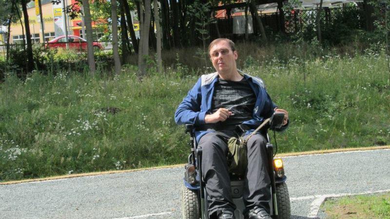 Der Schönwetter-Rollstuhlfahrer mit der Spastuk